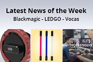 news of the week i48-e129- Blackmagic Design - Vocas - Ledgo