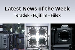 news of the week i50-e131- Teradek - Fujifilm - Fiilex