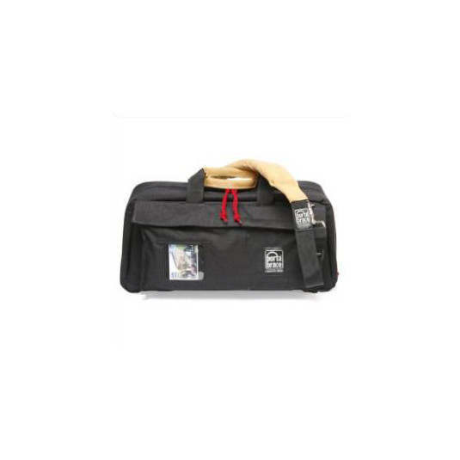 PORTABRACE CS-DV3RQS-M4 Mini-DV Camera Case (Black/Red