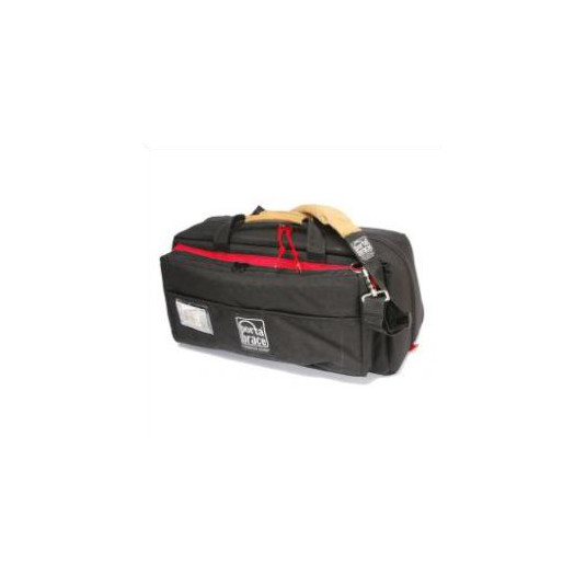 PORTABRACE CS-DV4RQS-M2 Mini-DV Camera Case (Black/Red