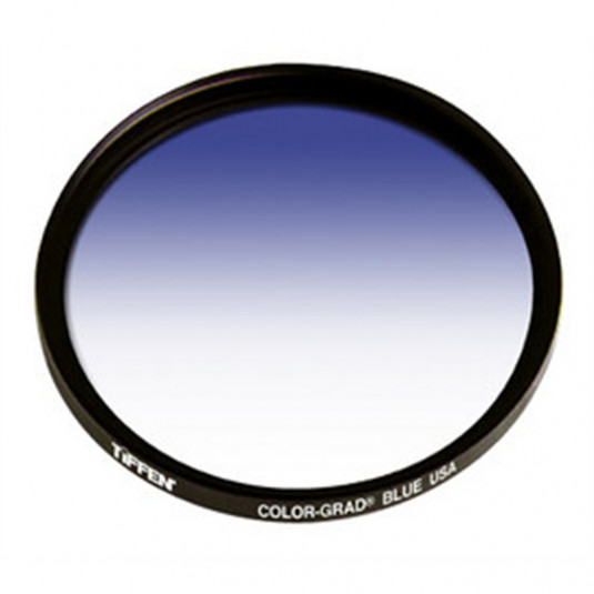 TIFFEN 67CGBLUE 67MM COLOR GRAD BLUE FILTER
