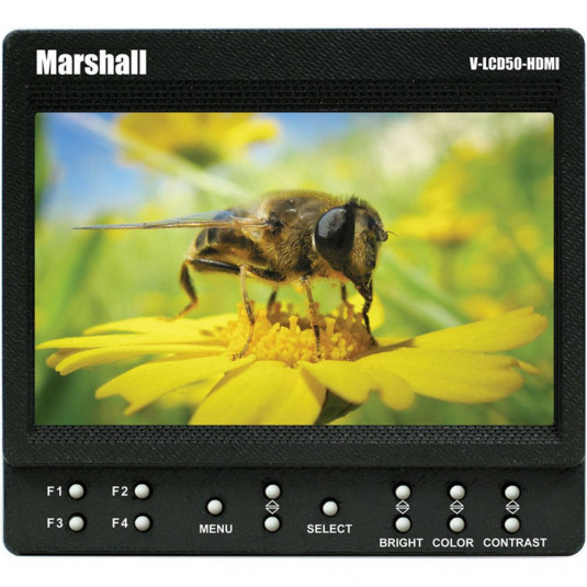 "MARSHALL ELECTRONICS V-LCD50 -HDMI Marshall Electronics 5"" On-Camera Monitor"