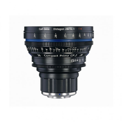 ZEISS 1793-052 Zeiss Compact Prime CP.2 28mm/T2.1 Cine Lens - PL Mount (Metric)
