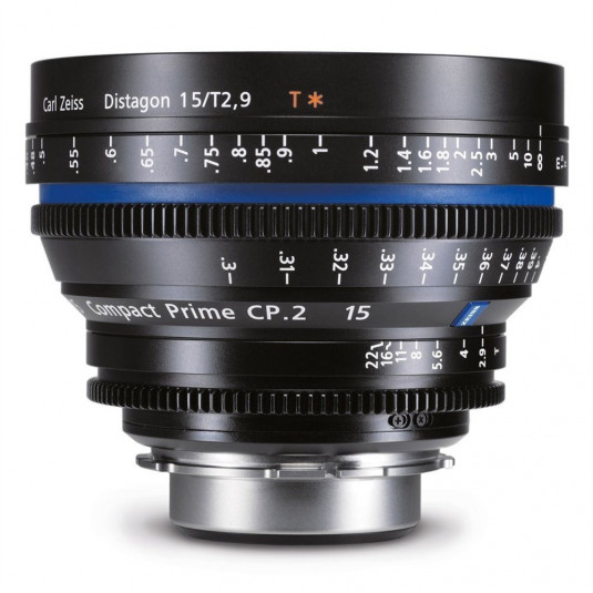 ZEISS 1839-121 Zeiss Compact Prime CP.2 21mm T2.9 PL mount (Feet)