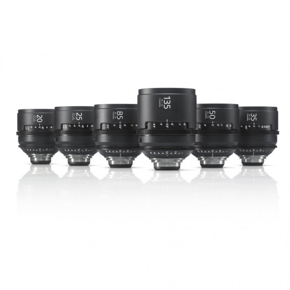 SONY SCL-PK6/M CineAlta Lens Pack (6) - METER