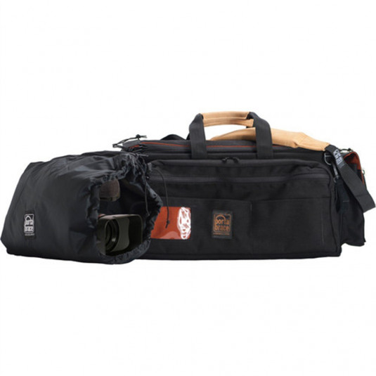 PORTABRACE CAR-3/BK-ZC Cargo Case w/Backpack Zipper P
