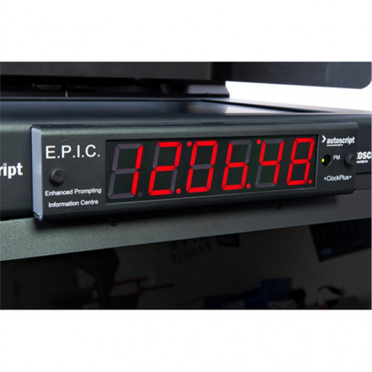 AUTOSCRIPT CLOCKPLUS-E E.P.I.C. Timecode Display Unit