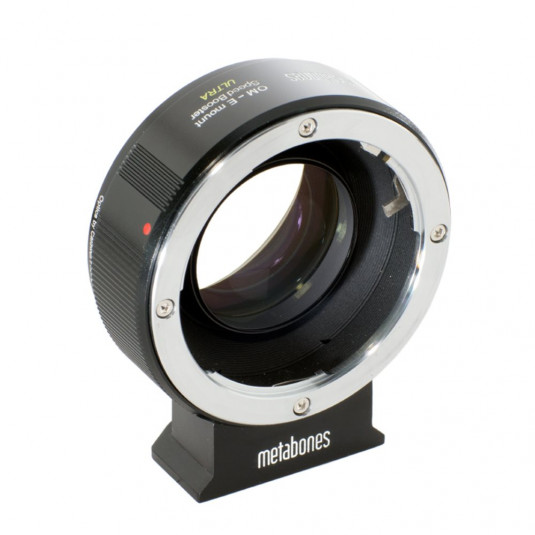 METABONES MB_SPOM-E-BM2 Metabones Olympus OM to E-mount Speed Booster ULTRA (Black Matt)