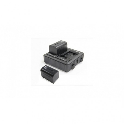 JVC IDX-Q10-E Charger kit with 2 batteries f