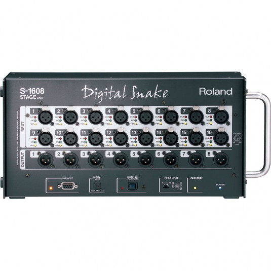 ROLAND S-1608 Digital Snake Stage Unit 16 in / 8