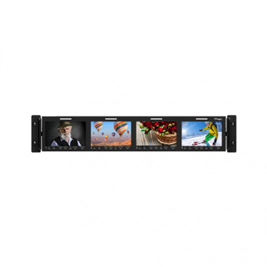 "TV LOGIC RKM-443A 4 x 4.3"" LCD 2RU Multi-Channel"