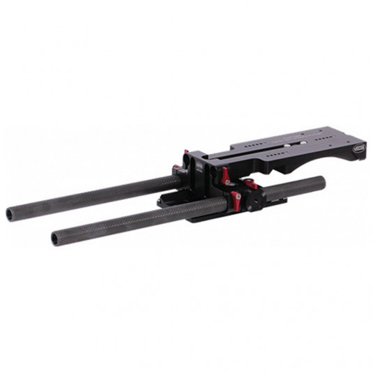 VOCAS 0350-2005 Universal Shoulder Base Plate with Balance Dovetail (19mm & 15mm)