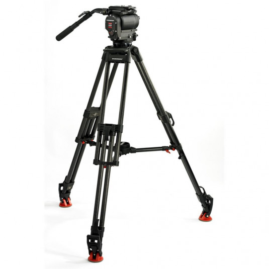 OCONNOR C1030DS-30L-M OConnor 1030DS Head & 30L Tripod with Mid Level Spreader & Case