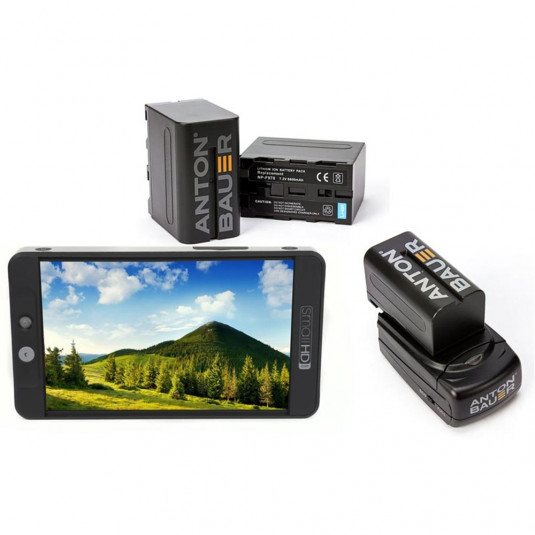 SMALL HD SHD-MON702LNPFKIT SmallHD 702 Lite On-Camera Monitor + NPF Battery Kit