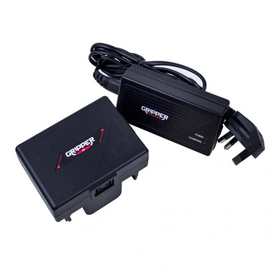 HAWKWOODS GR-75K Gripper 14.4v 75Wh Battery including Single Ch Fast Charger