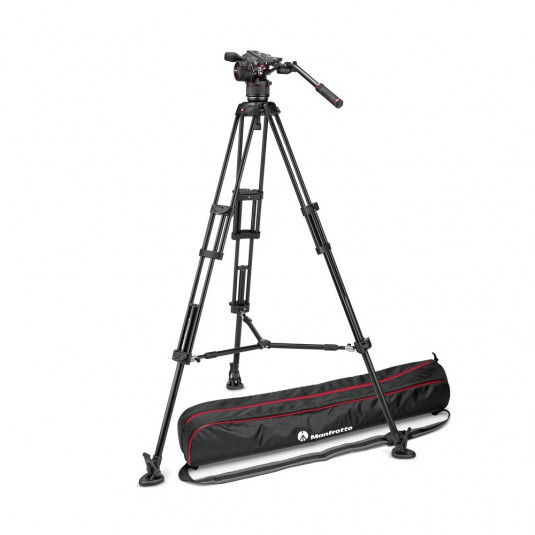 MANFROTTO MVKN8TWINM Nitrotech N8 & 546B Twin MS with FREE Bag