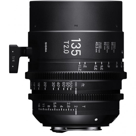 SIGMA 240967 Sigma 135mm T2.0 FF High-Speed Prime (Sony E Mount)