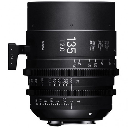 SIGMA 24F966 Sigma 135mm T2 FF Fully Luminous CANON