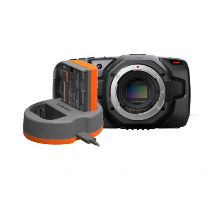 BLACKMAGIC BMD-CINECAMPOCHDEF6K-BATT Blackmagic Pocket Cinema Camera 6K battery and charger kit