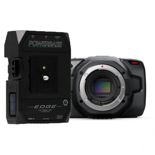 BLACKMAGIC BMD-CINECAMPOCHDEF6K-PBE Blackmagic Pocket Cinema Camera 6K Bundle