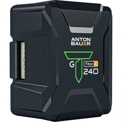 ANTON BAUER TITON SL 240 GOLD MOUNT BATTERY Anton Bauer Titon SL 240 Gold Mount Battery
