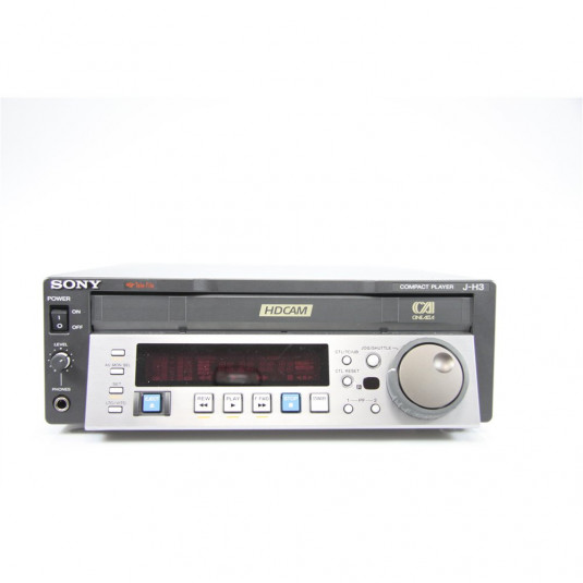 SONY J-H3 HDCAM Compact desk Player w/TC