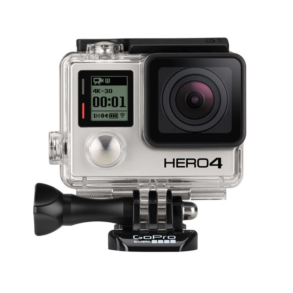 Go Pro Gp1041 Hero4 Black Edition Visual Impact Gopro Suction Cup Mount And Quick Release Aucmt 302
