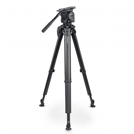 OCONNOR C1040-FT100 OConnor 1040 Fluid Head & flowtech 100 Tripod with Feet, Handle & Case