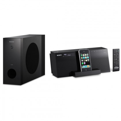 SONY AIRSW10TI.CEK Compact iPod/iPhone dock audio; Wir