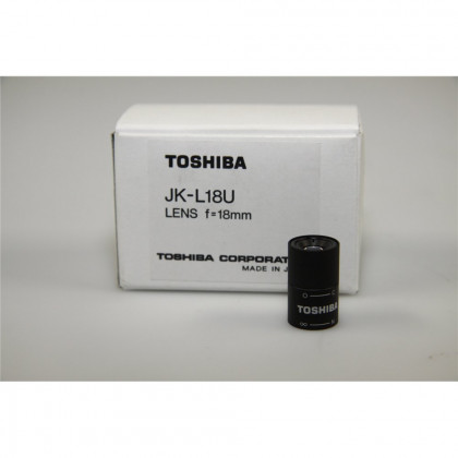 TOSHIBA JK-L18U 18mm CCTV Micro Mount Lens