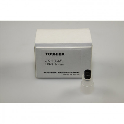 "TOSHIBA JK-L04S 1/4"" (4mm, f2.4) Micro Lens - for M"