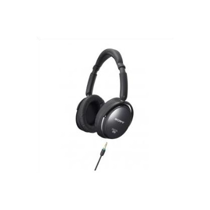 Over ear black NC headphones. World