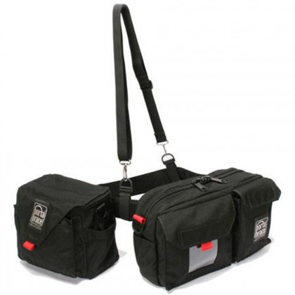 PORTABRACE BP-3B Belt Pack with two pouches (in