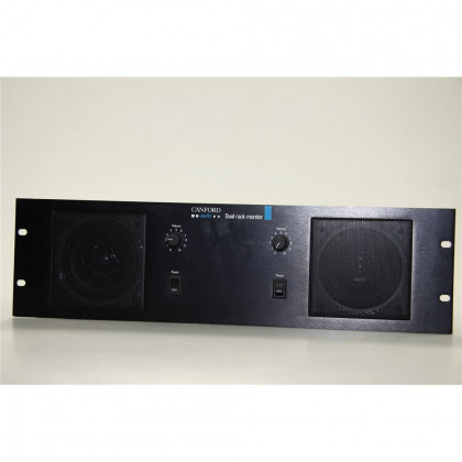 CANFORD DUAL RACK MONITOR CANFORD POWERED DIECAST LOUDSPEAKER