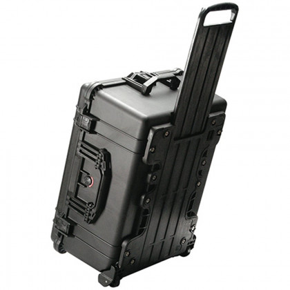 PELI 1610 Pelican Pelicase 1610 with Foam and Retractable Handle (with wheels)