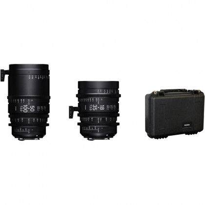 Sigma 18-35mm and 50-100mm Lenses with Case (PL)