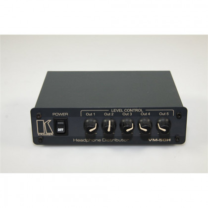KRAMER VM-50H 1: 5 STEREO HEADPHONE DISTRIBUTOR 1