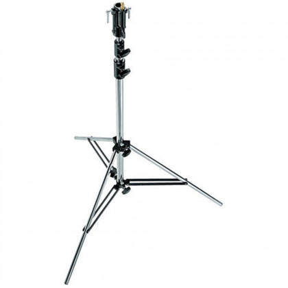 MANFROTTO 007CSU CHROME STAND 3 SECTION, LEVLEG