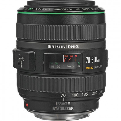 CANON CONSUMER EF 70-300MM F/4.5-5.6 DO IS USM Canon EF 70-300MM F/4.5-5.6 DO IS USM Lens