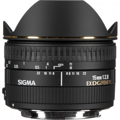 SIGMA 15MM F2.8 EX DG DIAGONAL FISHEYE Sigma 15MM F2.8 EX DG DIAGONAL FISHEYE