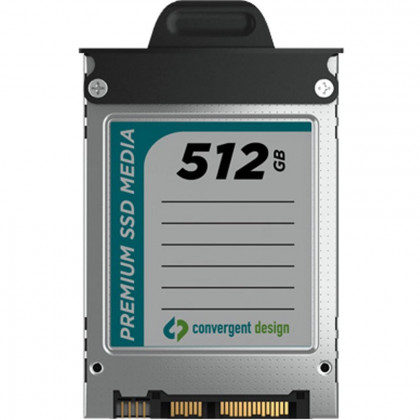 CONVERGENT DESIGN CD-OD-SSD-512GB 512GB SSD for Odyssey7 and 7Q