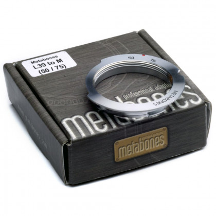 METABONES MB_L39-M-50/75 Metabones L39 Screw Mount to Leica M (50/75) with 6-bit Adapter
