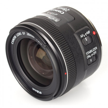 CANON CONSUMER EF 28MM F/2.8 IS USM EF 28mm f/2.8 IS USM lens, Len