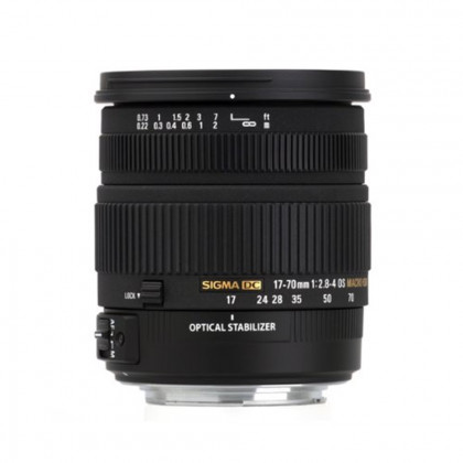SIGMA 17-70MM F/2.8-4.0 CANON FIT Sigma 17-70MM F/2.8-4.0 CANON FIT