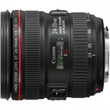 CANON CONSUMER EF 24-70MM F/4L IS USM EF 24-70mm f/4L IS USM lens, L