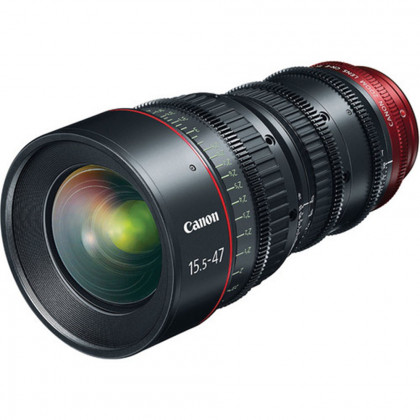 CANON CN-E 15.5-47MM  T2.8 L S Canon CN-E 15.5-47mm T2.8 L S (EF Mount) Cine Zoom Lens