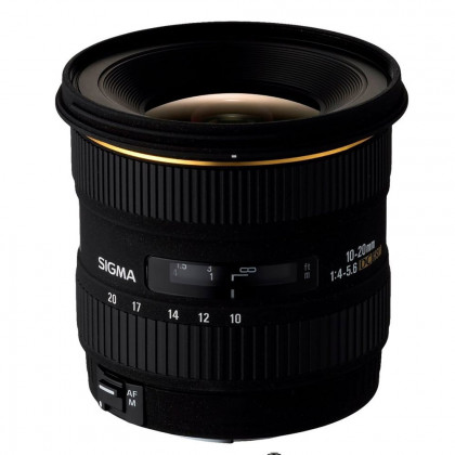 SIGMA 10-20MM F4-5.6 CANON FIT Sigma 10-20mm f4-5.6 Ex Dc HSM Canon Fit