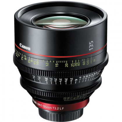 CANON CN-E 135MM T2.2 L F Canon CN-E 135mm T2.2 L F (EF Mount) Cine Prime Lens