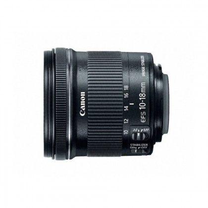 CANON CONSUMER EF-S 10-18MM F/4.5-5-6 IS STM EF-S 10-18mm f/4.5-5.6 IS STM,