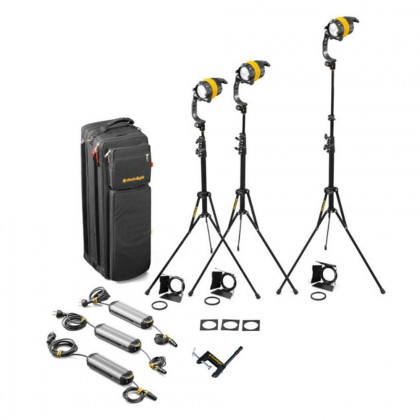 DEDO LIGHTS KDL4-BI3B Dedolight DLED4 LED Bi-Colour Kit